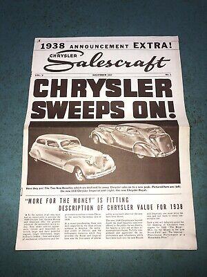 Chrysler Dealer Des Moines : chrysler, dealer, moines, CHRYSLER, DEALER, SALESCRAFT, IMPERIAL, ROYAL, FACTORY, CYLINDER