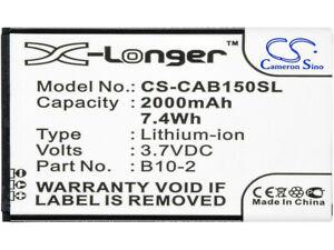 B10-2 Battery for CAT B15 B15Q B15Q AM 2000mAh/7.4Wh Li