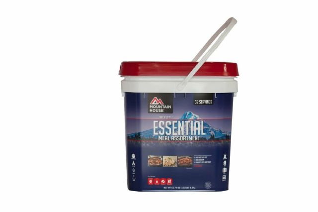 Food Storage Mountain House Just In Case Essential Assortment Bucket 32 Serv 2