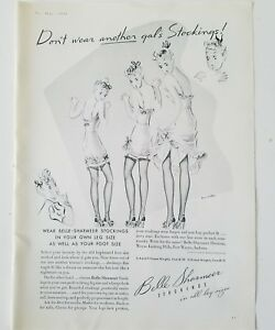 1939 women's Belle Sharmeer don't wear another gal