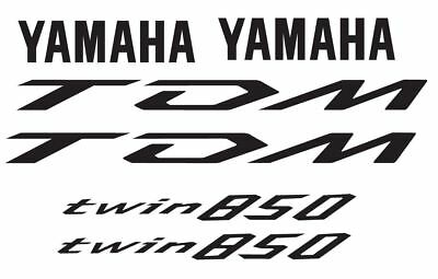 Kit adesivi yamaha tdm 850 tutti i colori disposnibili + 1