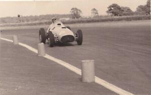 FERRARI DRIVEN BY LOUIS ROSIER, THE FORMULA LIBRE RACE SILVERSTONE 1952 PHOTO