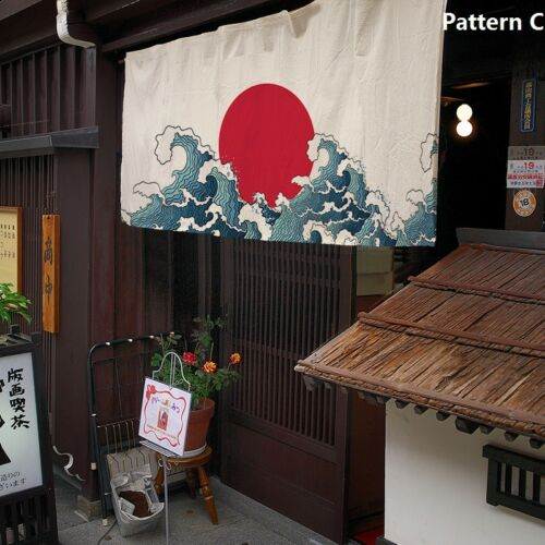 curtains blinds japanese noren line cotton door curtain print tapestry doorway art decor vintage globalgym parsberg com