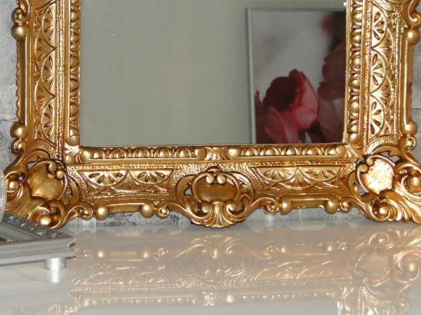 Wall Mirror Gold Antique Baroque Bathroom Floor Vanity