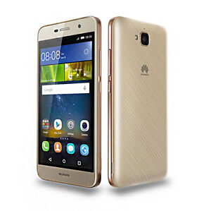 "Huawei Y6 Pro Gold 16GB 5"" Dual SIM13MP 2GB RAM Android Phone By FedEx"