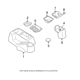 Mopar Auto Transmission Gear Shifter Indicator Bezel For