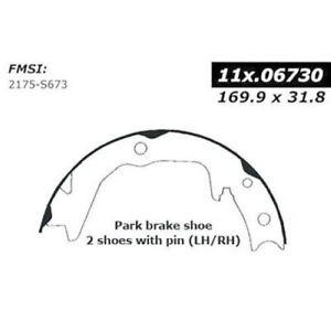 Centric Parts 111.06730 Rear Parking Brake Shoe-Premium