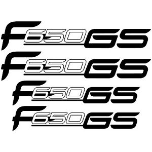 MAXI SET BMW F650 GS Vinyl Decal Stickers Sheet Motorcycle