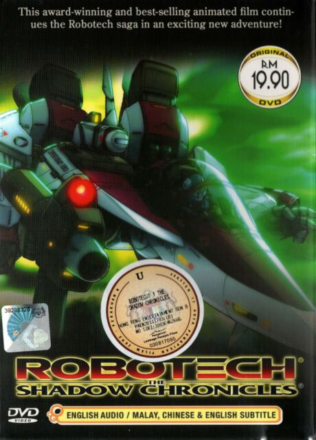 Robotech Movie : robotech, movie, ANIME, DVD~ROBOTECH:, SHADOW, CHRONICLES, MOVIE, [ENGLISH, DUBBED], Online