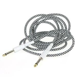 Durable 10ft Guitar Cable Cord for Bass Electric Guitar
