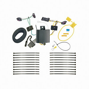 Trailer Hitch Tow Wiring for 2017-2021 Jeep Compass (New