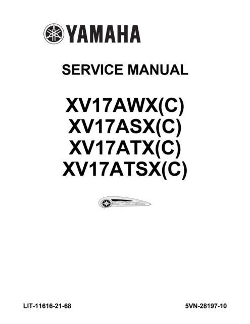 Yamaha Road Star XV17 AWX ASX ATX ATSX C Repair Service