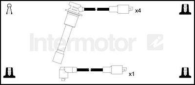 73818 ignition cable leads kit CITROEN C25 FIAT DUCATO