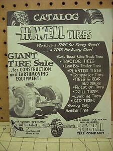 Giant Tires For Sale : giant, tires, Vintage, Howell, Company, Catalog, Oklahoma