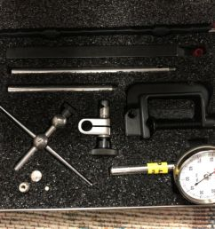 starrett universal dial test indicator kit nos 196 and 196m 02mm for sale online ebay [ 1600 x 1200 Pixel ]