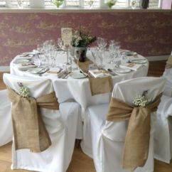 Chair Covers And Bows Ebay Fishing Chairs For Sale 150 Packs Burlap 6 X108 Cover Sashes Natural Jute Wedding