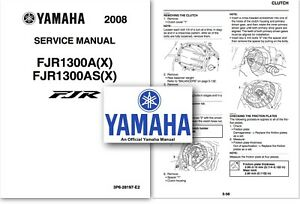 Yamaha FJR1300 Service Workshop Repair Shop Manual FJR
