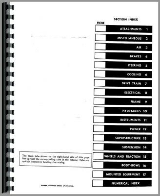 Parts Manual International Harvester 3400A TLB Tractor