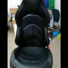 Ferrari Office Chair Wood Floor Mat 16 488 Oem Seat Recaro Racing Game Image Is Loading