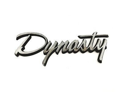 1988-1993 DODGE DYNASTY REAR TRUNK LID EMBLEM BADGE SYMBOL