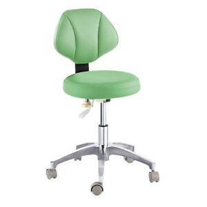 revolving chair for doctor big and tall recliner microfiber leather medical dental s stool adjustable image is loading 039
