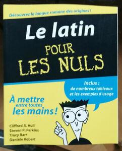 Le Latin Pour Les Nuls : latin, Latin, First