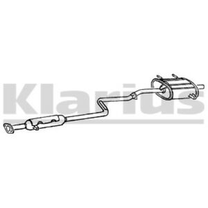 1x KLARIUS OE Quality Replacement Rear / End Silencer