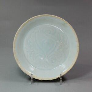 Chinese Qingbai saucer dish, Song/Yuan dynasty
