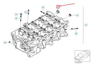 NEW BMW 3 E46 OIL SUMP PAN DRAIN PLUG 11128648649 8648649