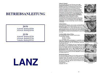 LANZ Bulldog f. verschiedene Modelle 3506 7506 7532 DDR