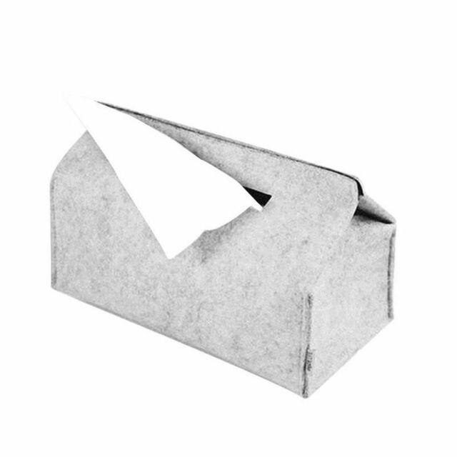 Felt Tissue Box Paper Napkin Holder Home Decoration Storage Case Office Bathroom For Sale Online