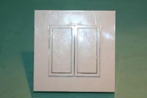 details sur double bouton poussoir pour telerupteur legrand mosaic 50 ancien modele