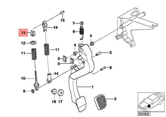 Genuine BMW Z3 E36 323i 325i 325is 325td Bracket
