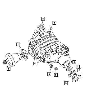 OEM NEW Mopar 2004-2006 Chrysler Pacifica Input Shaft Seal