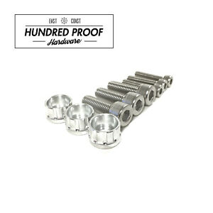 HUNDRED PROOF HARDWARE D15b D16 D16z6 Distributor Bolt Kit