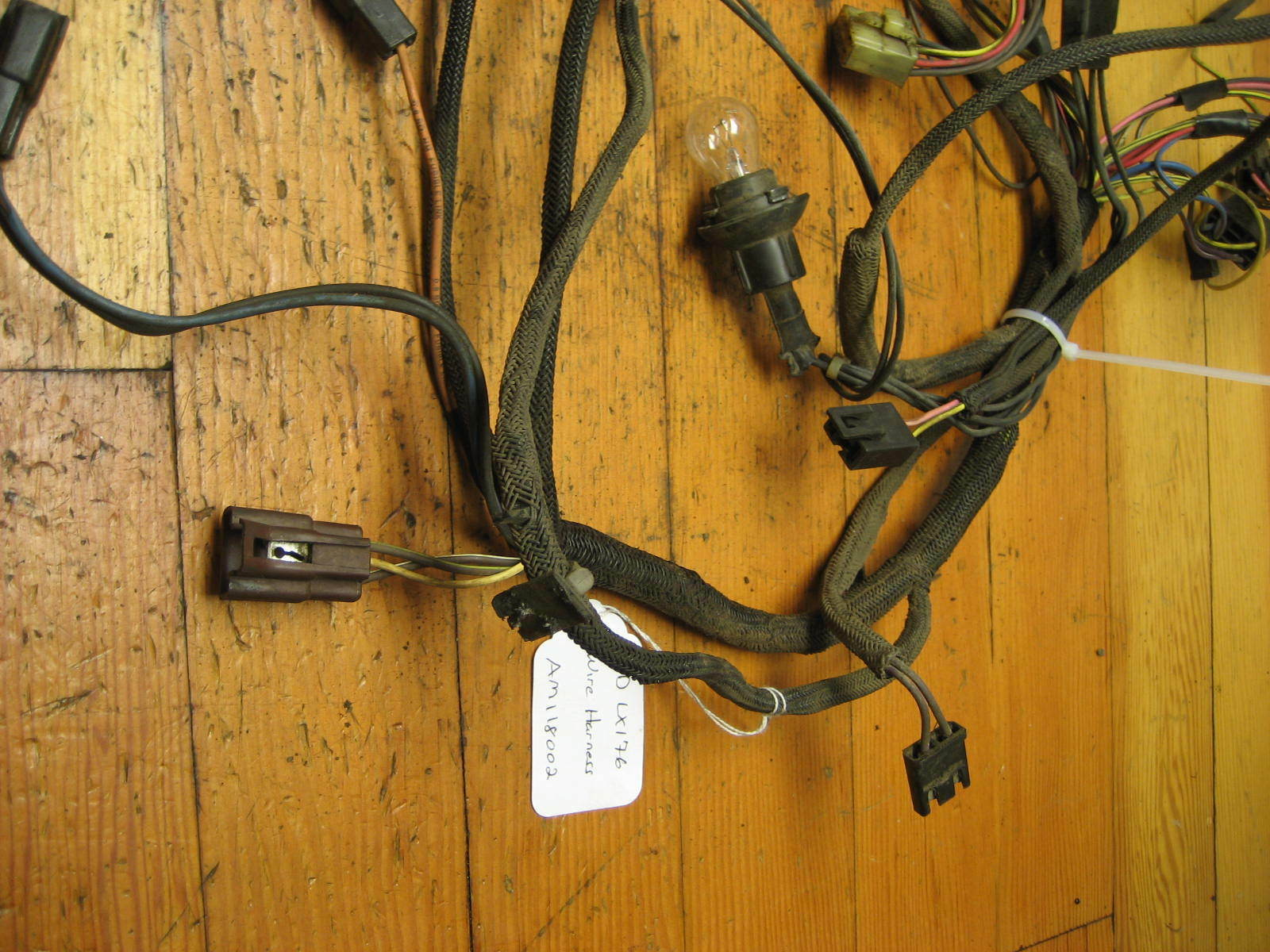 hight resolution of john deere lx172 lawn tractor wiring harness part am118002 ebay