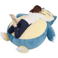 """59"""" Pokemon GO Giant Snorlax Kabigon OA carpet Filled Bed"""