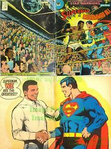 details zu superman vs muhammad ali c 56 whitman limited collectors edition very nice vhtf