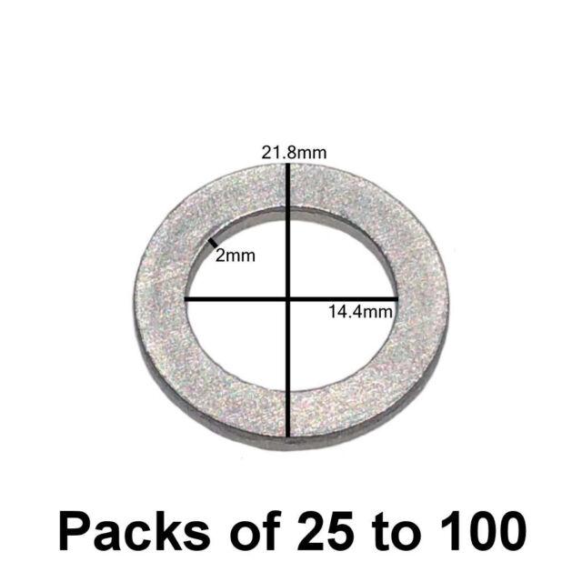 10pcs Oil Drain Crush Sealing Washer For Toyota 90430