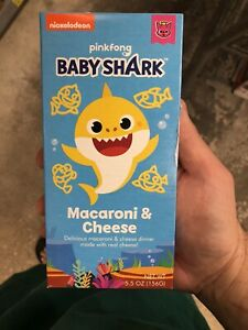 Baby Shark Mac And Cheese : shark, cheese, Nickelodeon, Pinkfong, Shark, Macaroni, Cheese,, 5.5oz
