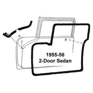 1956 FORD CAR HARDTOP CROWN VICTORIA & CONVERTIBLE DOOR