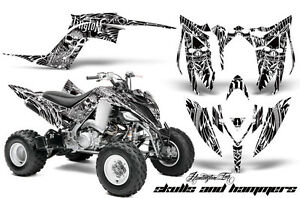 ATV Graphics Kit Decal Sticker Wrap For Yamaha Raptor 700R