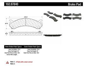 Disc Brake Pad Set fits 2003-2009 Hummer H2 C-TEK BY