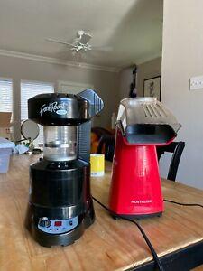 Fresh Roast SR500 Roaster + Nostalgia Air Popper Coffee Roasting Bundle | eBay