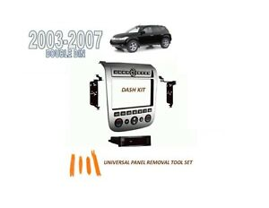 Fits 2003-2007 NISSAN MURANO DOUBLE DIN INSTALL KIT