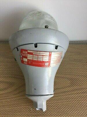 crouse hinds eva 282 explosion proof light fixture ebay