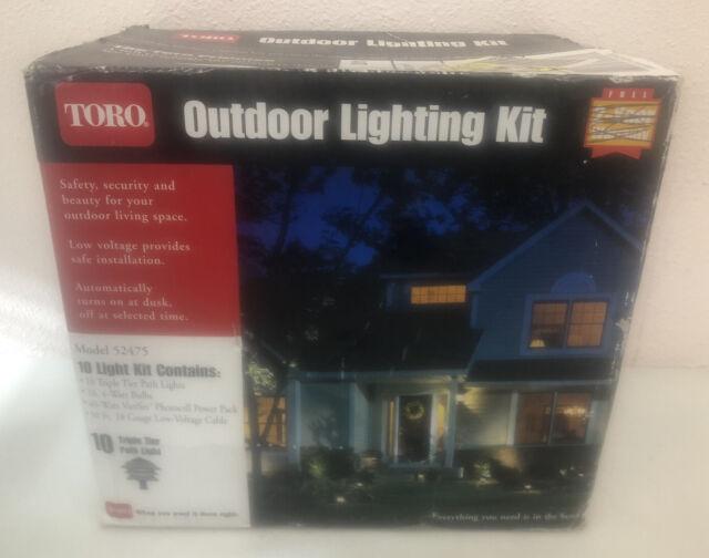 toro lighting kit outdoor triple tier 10 light 52475