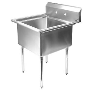 commercial kitchen sink wooden playsets stainless steel utility 30 wide image is loading 034