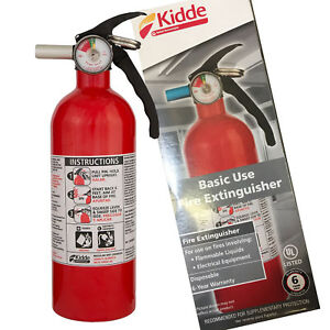 kidde kitchen fire extinguisher microwave cart dry chemical home car auto garage image is loading