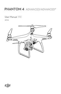 DJI PHANTOM 4 ADVANCED & ADVANCE + PRINTED INSTRUCTION